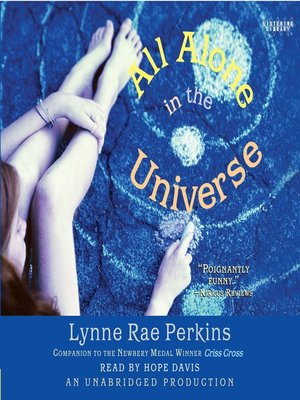 cover image of All Alone in the Universe