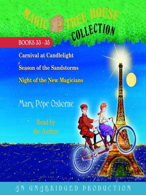 cover image of Magic Tree House Collection, Books 33-35