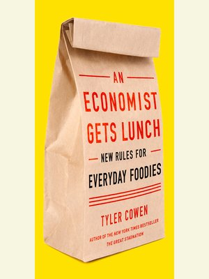 cover image of An Economist Gets Lunch