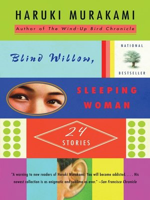 cover image of Blind Willow, Sleeping Woman