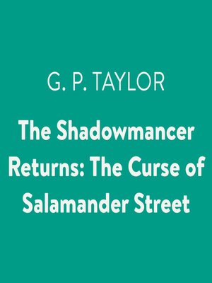 cover image of The Shadowmancer Returns