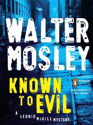 cover image of Known to Evil