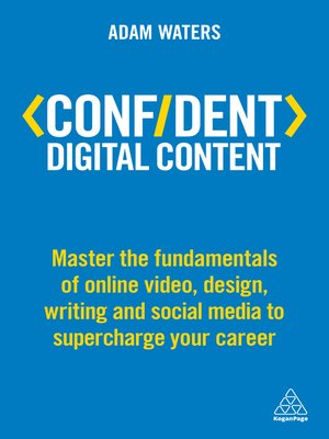 cover image of Confident Digital Content