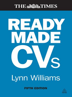 cover image of Readymade CVs