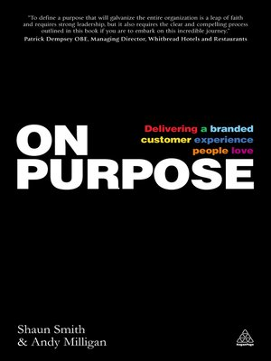 cover image of On Purpose