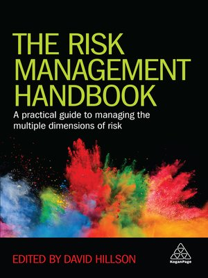 cover image of The Risk Management Handbook