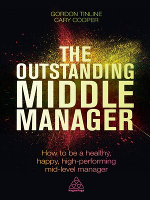 cover image of The Outstanding Middle Manager
