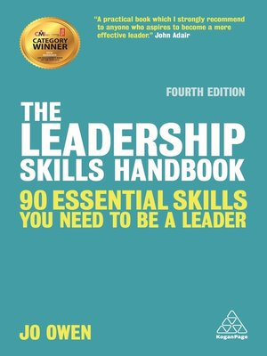 cover image of The Leadership Skills Handbook