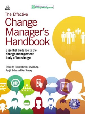 cover image of The Effective Change Manager's Handbook