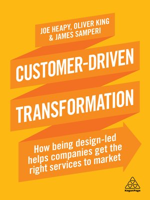 cover image of Customer-Driven Transformation