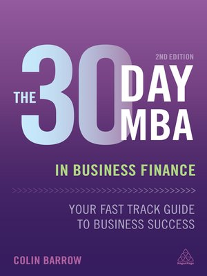 cover image of The 30 Day MBA in Business Finance