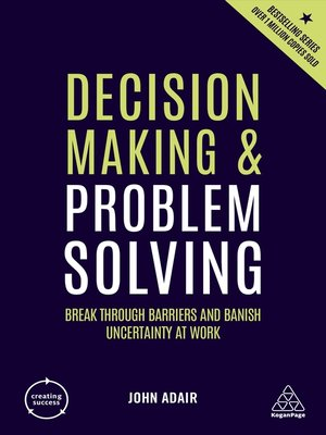 problem solving and decision making techniques