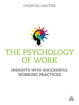 cover image of The Psychology of Work