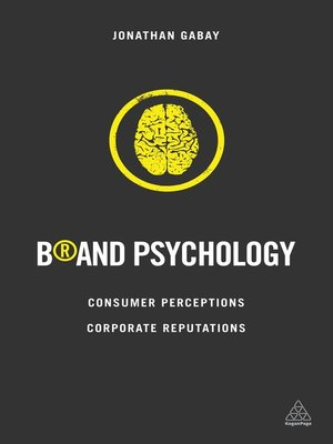 cover image of Brand Psychology