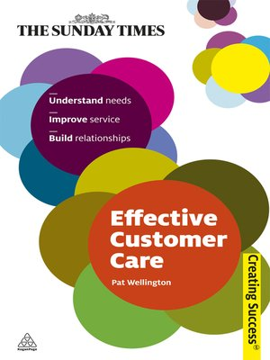 cover image of Effective Customer Care