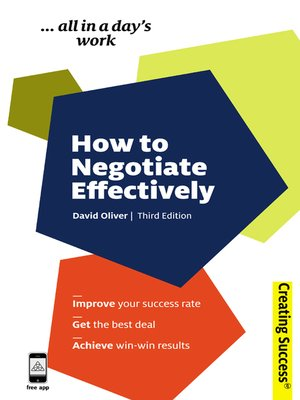 cover image of How to Negotiate Effectively