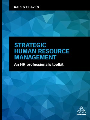 cover image of Strategic Human Resource Management