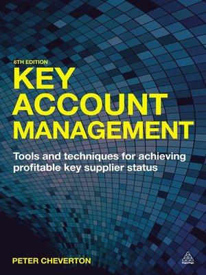 Key Account Management Peter Cheverton Pdf