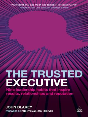 cover image of The Trusted Executive