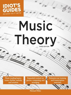 cover image of Idiot's Guides - Music Theory