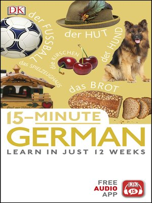 cover image of 15-Minute German
