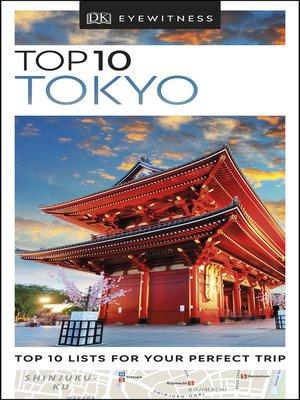 cover image of DK Eyewitness Top 10 Tokyo