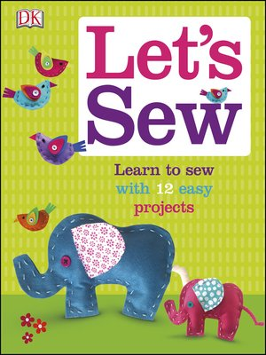 cover image of Let's Sew