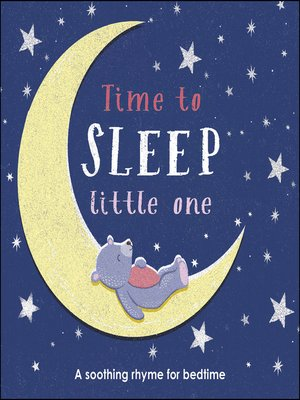 cover image of Time to Sleep, Little One