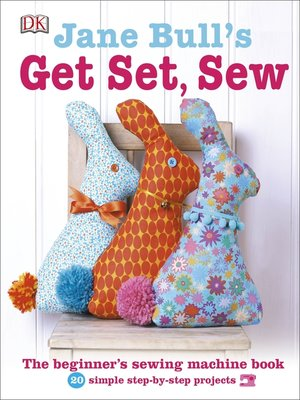 cover image of Jane Bull's Get Set, Sew