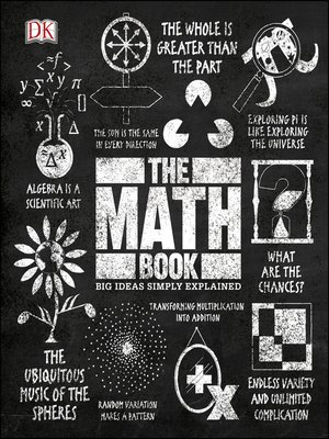 cover image of The Math Book