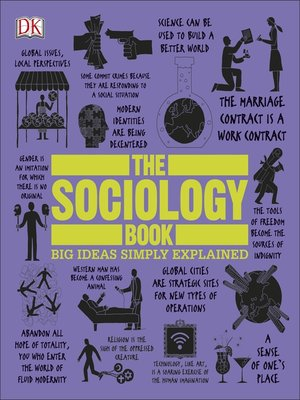 cover image of The Sociology Book