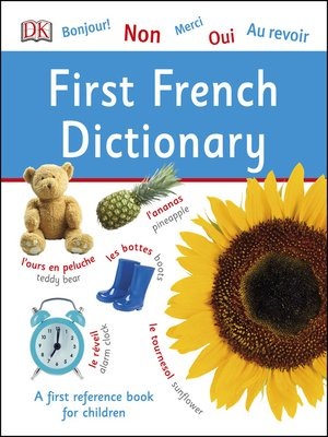cover image of First French Dictionary