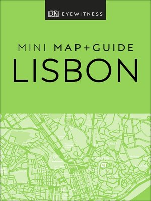 cover image of DK Eyewitness Lisbon Mini Map and Guide