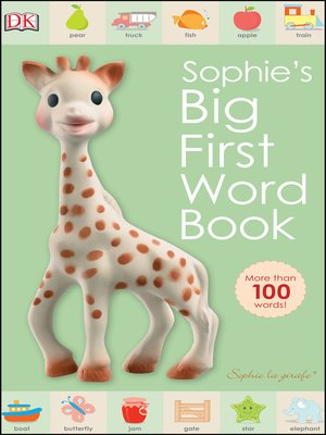 cover image of Sophie's Big First Word Book