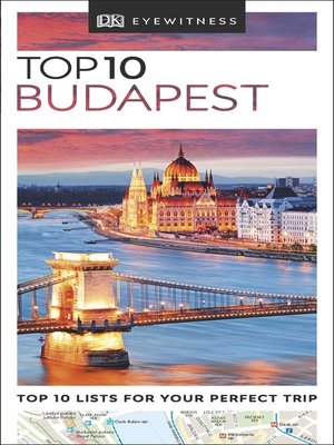 cover image of DK Eyewitness Top 10 Budapest