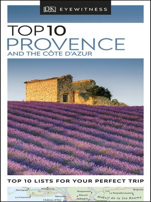 cover image of DK Eyewitness Top 10 Provence and the Côte d'Azur