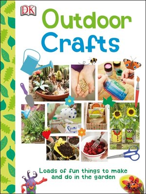 cover image of Outdoor Crafts