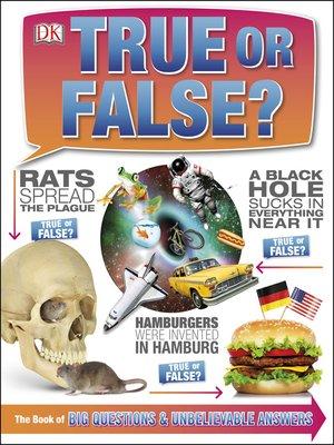 cover image of True or False?