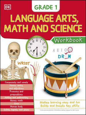 cover image of Language Arts, Math, and Science: Grade 1