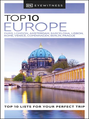 cover image of DK Eyewitness Top 10 Europe