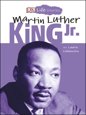 cover image of DK Life Stories Martin Luther King Jr