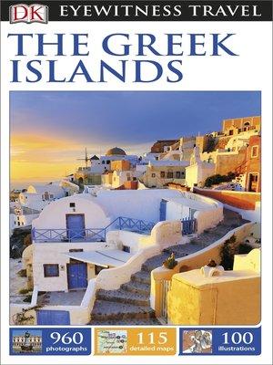 cover image of DK Eyewitness Travel Guide the Greek Islands