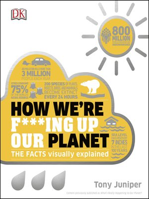 cover image of How We're F***ing Up Our Planet