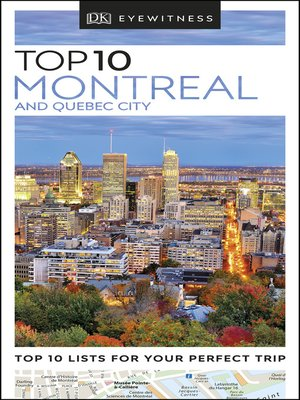 cover image of Montreal and Quebec City