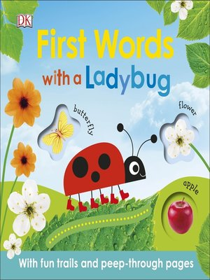 cover image of First Words with a Ladybug