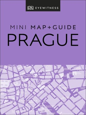 cover image of DK Eyewitness Prague Mini Map and Guide