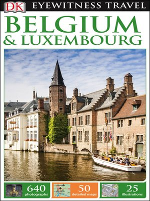 cover image of DK Eyewitness Travel Guide - Belgium & Luxembourg
