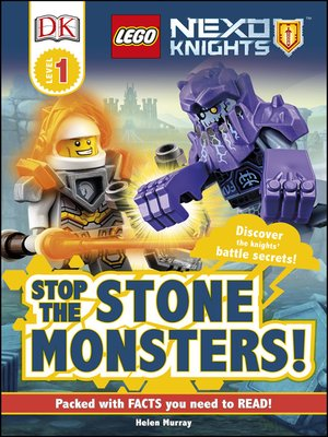 cover image of LEGO NEXO KNIGHTS: Stop the Stone Monsters!