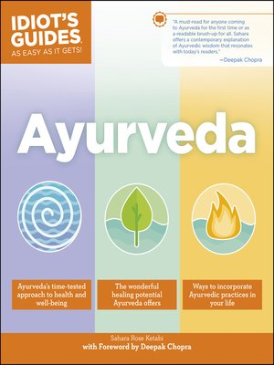cover image of Ayurveda