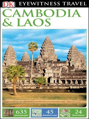 cover image of DK Eyewitness Travel Guide Cambodia and Laos